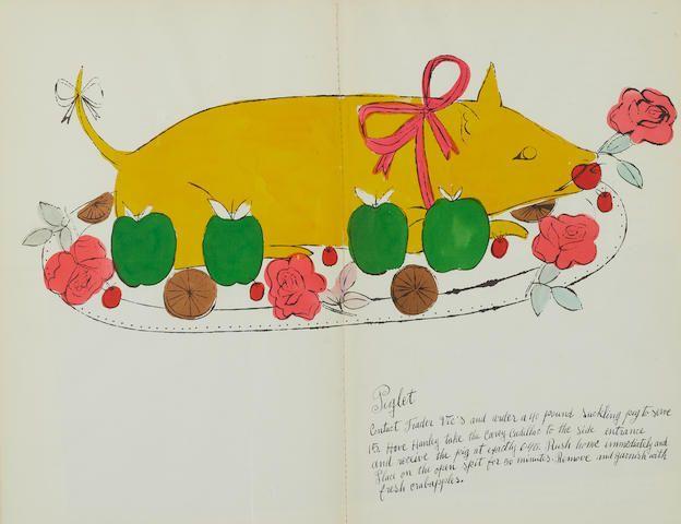 Σε δημοπρασία σπάνιο βιβλίο μαγειρικής του Άντι Γουόρχολ: «Η ομελέτα της Γκρέτα