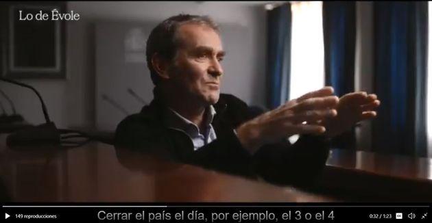 Fernando Simón, en 'Lo de