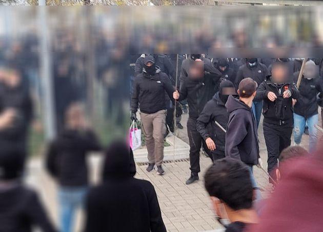 Νέα Σμύρνη: Επεισόδια στην πορεία διαμαρτυρίας κατά της αστυνομικής