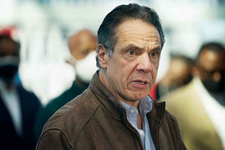 """New York Gov. Andrew Cuomo apologized last week for anyone he'd made feel """"uncomfortable"""" but has insisted he will not resign"""
