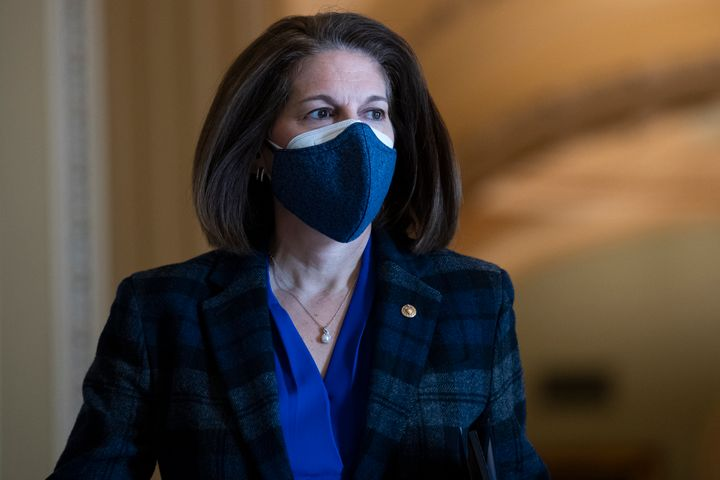 Sen. Catherine Cortez Masto (D-Nev.) has joined senators who are favoring an end to the 60-vote filibuster logjam.