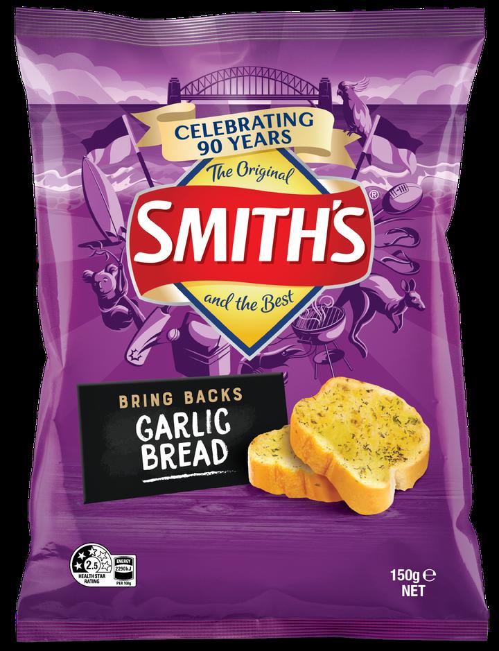Smiths Limited Edition 'Bring Backs' range: Garlic Bread
