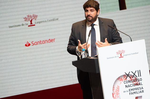 Fernando López Miras, presidente de la Región de