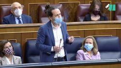 Iglesias genera revuelo en el Congreso al explicar la diferencia entre Abascal y Paca La