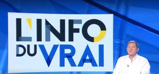 Yves Calvi dans l'Info du vrai sur Canal