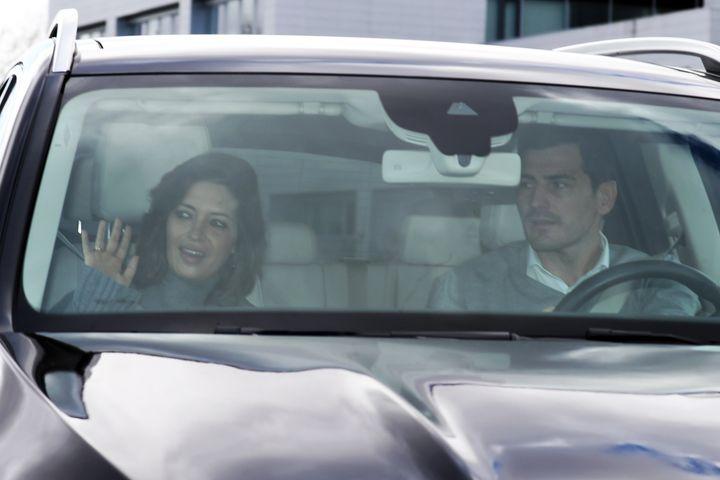 El pasado 12 de febrero Sara Carbonero era dada de alta y abandonó el hospital junto a Iker Casillas.