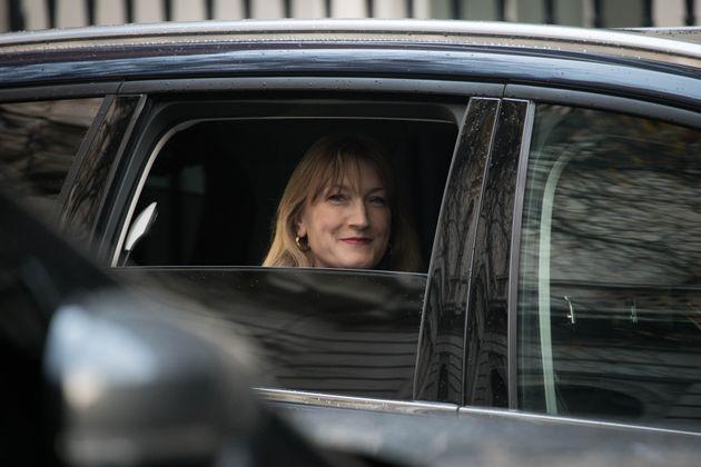 Boris Johnson's press secretary Allegra