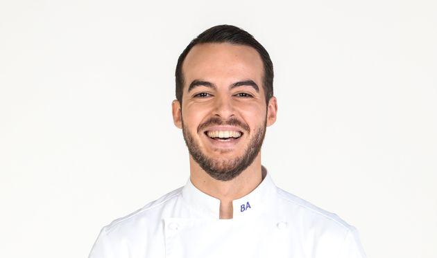 """Bruno Aubin, le candidat éliminé de la compétition de """"Top Chef"""""""