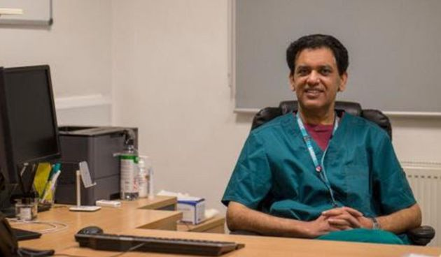 Dr Zahid Chauhan, an Oldham GP who held the first Covid-19 vaccine clinic for the