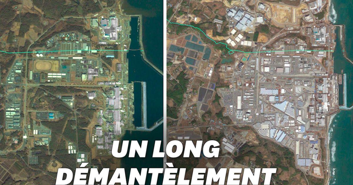 L'évolution de la centrale nucléaire de Fukushima, 10 ans après la catastrophe