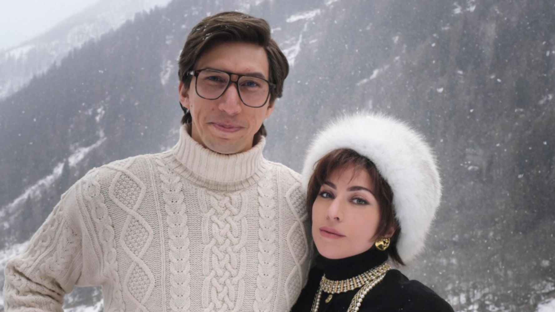 Lady Gaga's 'House Of Gucci' Photo With Adam Driver Has Inspired Oscar-Worthy Memes - HuffPost