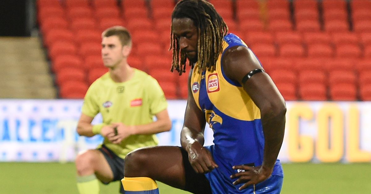 'More An American Thing': AFL's Nic Naitanui Weighs In On 'Take A Knee' Becoming Australian Norm