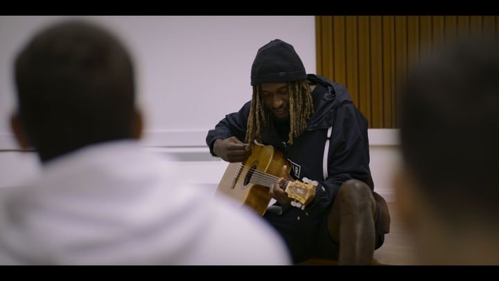 Nic Naitanui stars in the AFL's new seven-part docu-series, 'Making Their Mark'.