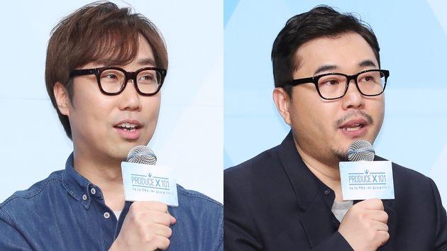 '프로듀스 101' 전 시리즈를 조작한 혐의로 기소된 안준영 PD 김용범 CP에 대한 실형이