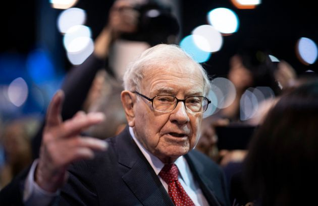 Warren Buffet au meeting annuel de Berkshire Hathaway, sa société d'investissement, le 4 mai