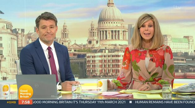 Kate Garraway Stands By Friend Piers Morgan Following Good Morning Britain Exit