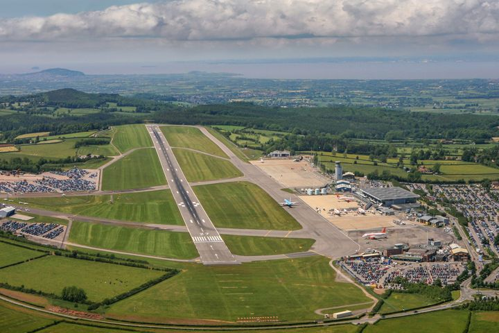 Bristol International Airport in North Somerset, England, is 100% owned by the Ontario Teachers' Pension Plan.