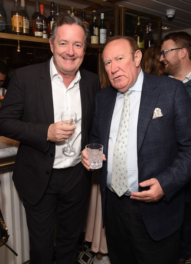 Piers Morgan and Andrew