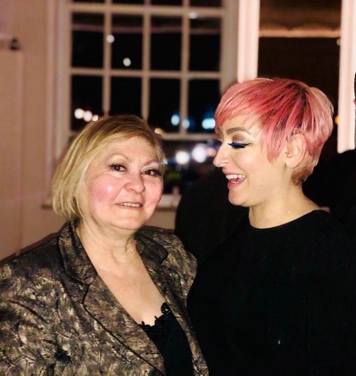 Kaz and her mum