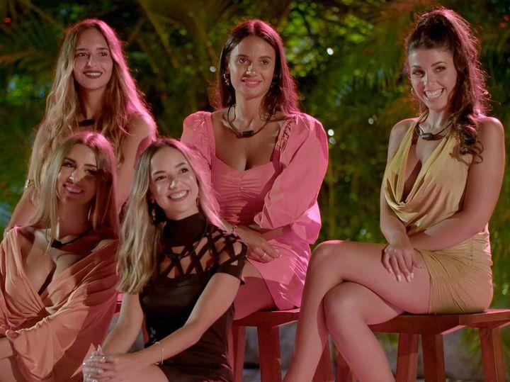 Las chicas (parejas) de 'La isla de las tentaciones 3'.