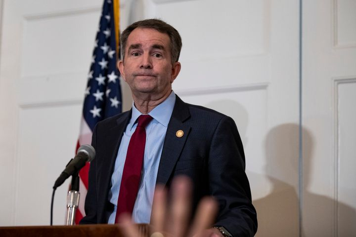 Virginia Gov. Ralph Northam denied allegations that a specific photo showed him wearing blackface, but did admit that he wore