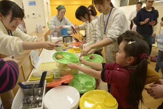 ほいくえん子ども食堂(写真は2019年に撮影したものです)