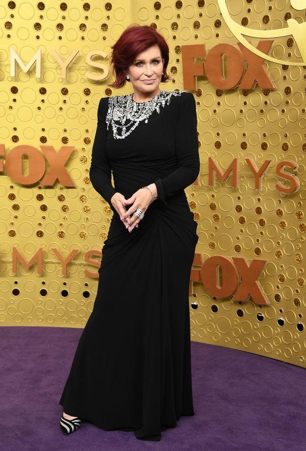 Sharon Osbourne pictured in