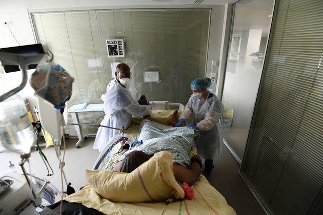 Le nombre de malades en réa a dépassé les 4000, une première depuis fin novembre...