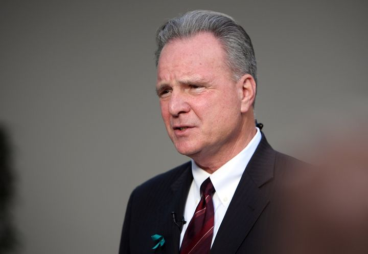 California state Sen. Dave Cortese, seen here in April 2017, initiated the pilot program giving $1,000 to youth who have aged out of the foster system.