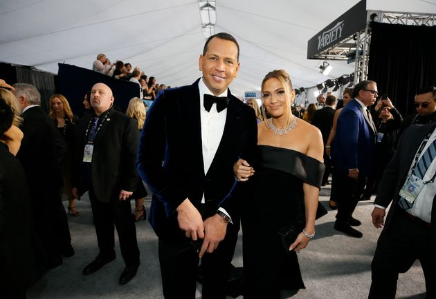 Jennifer Lopez et Alex Rodriguez, ici à Washington aux États-Unis, le 20 janvier