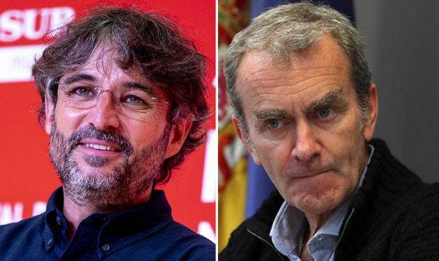 Jordi Évole y Fernando