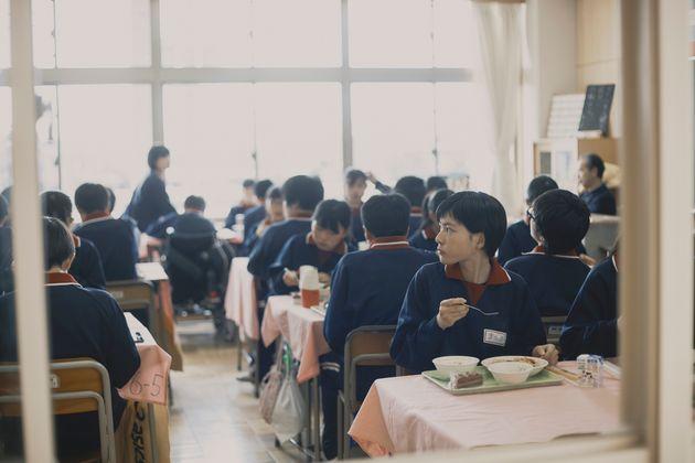 映画『14歳の栞』より