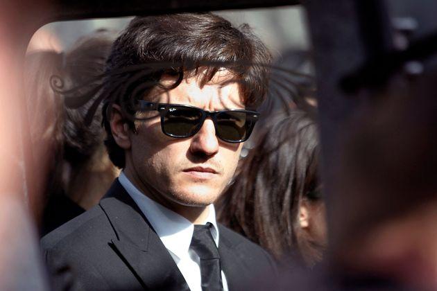 L'avocat Paul Sollacaro (ici photographié en octobre 2012 aux funérailles de son père, un magistrat corse...