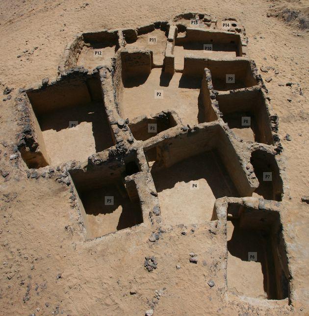 Des vestiges chrétiens du Vè siècle ont été découverts en Egypte...