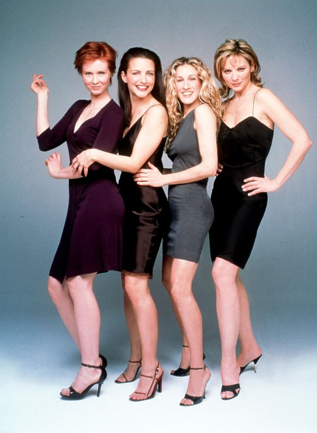 The cast of Sex And The City pictured in