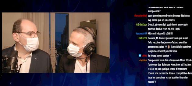 Ce dimanche 14 mars, le Premier ministre Jean Castex répondait sur Twitch aux questions de Samuel...
