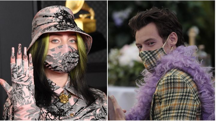 Billie Eilish and Harry Styles keep it safely matchy-matchy.
