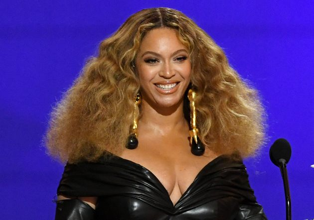 Beyoncé at the Grammy Awards at the Los Angeles Convention Center on March 14 in Los