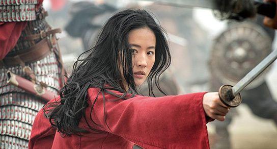 2020年公開の実写映画『ムーラン』で主人公を演じた俳優のリウ・イーフェイ