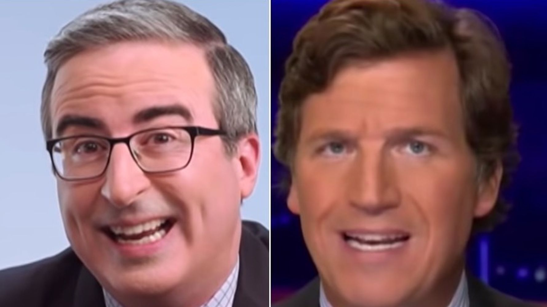 John Oliver Outs Tucker Carlson As White Supremacist In Damning Segment