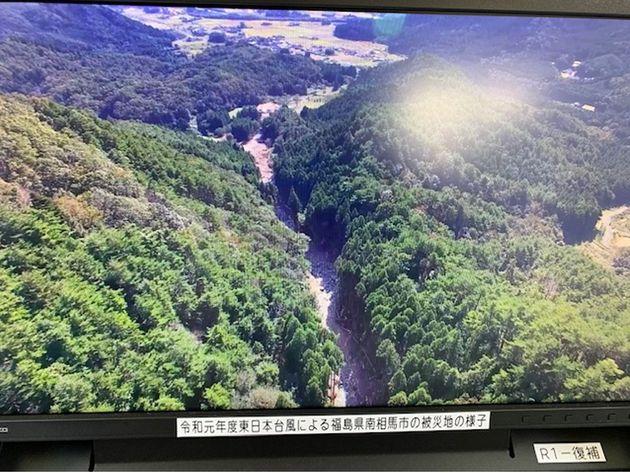 無人飛行機から送られてきた映像。驚くべき解像度です