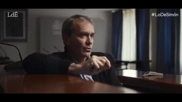 Fernando Simón, durante la entrevista en 'Lo de