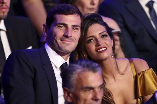 Iker Casillas y Sara