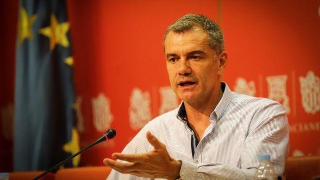 Toni Cantó, portavoz de Ciudadanos en las Cortes