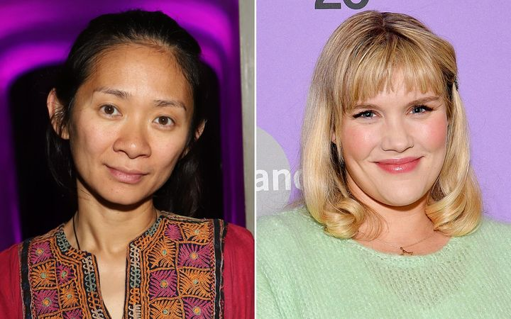 Chloé Zhao (left) attends Common's 5th Annual Toast to the Arts at Ysabel on February 22, 2019, in West Hollywood, Cal