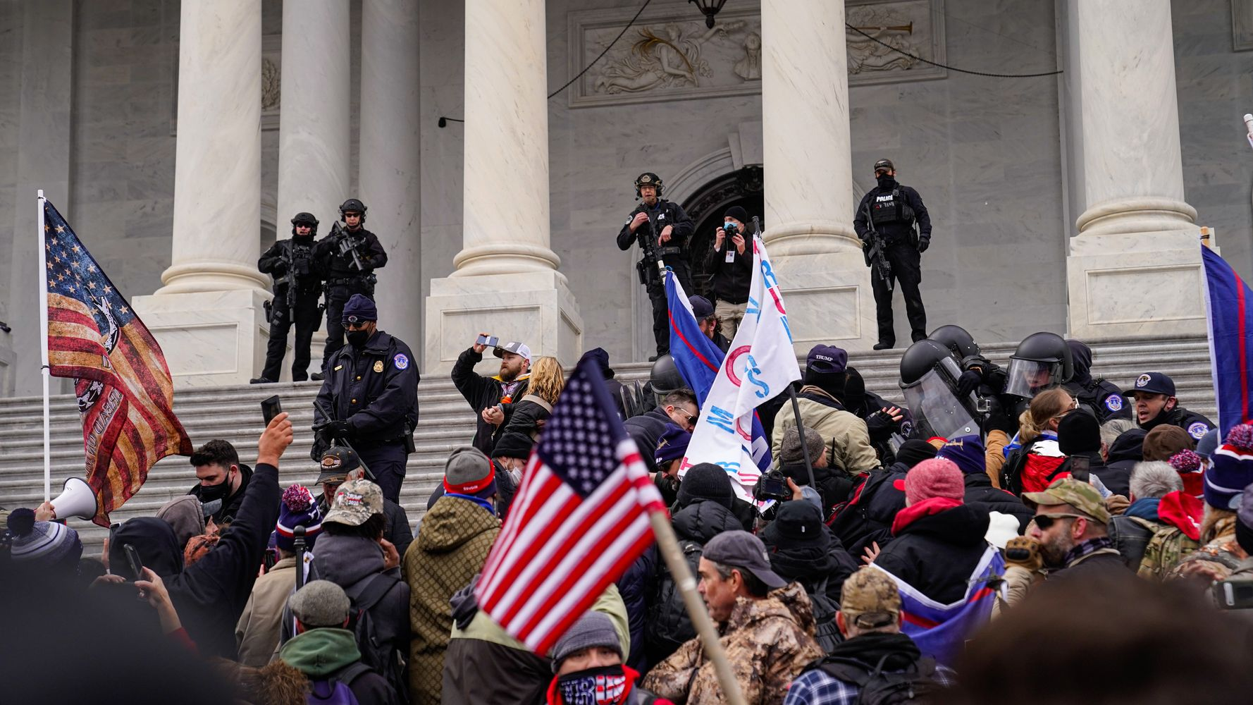 2 Men Charged With Assaulting Brian Sicknick, Cop Who Died After Capitol  Riot   HuffPost