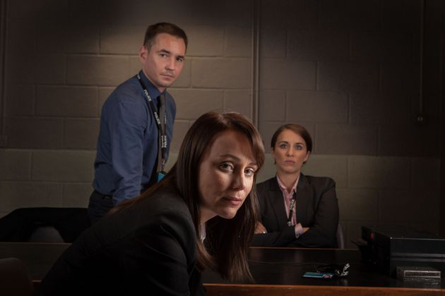 Keeley Hawes played DCI Denton in Line Of