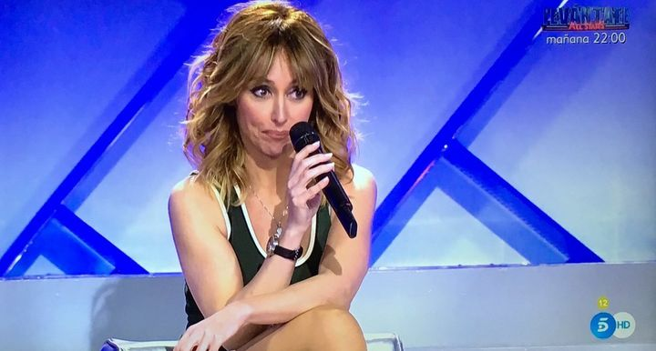 Emma García, primera presentadora de 'MYHYV'.
