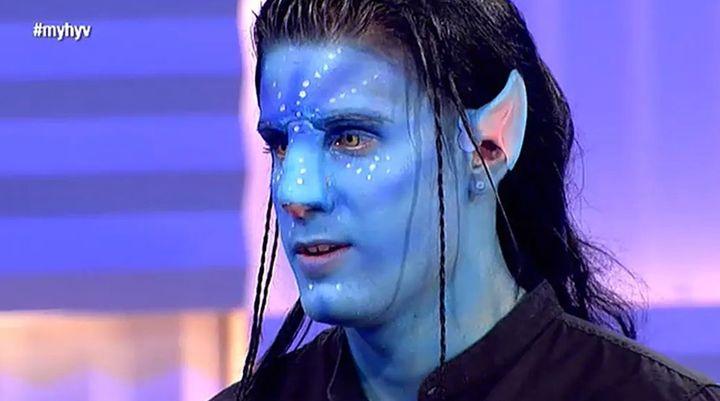 Iván 'Avatar' en 'MYHYV'.