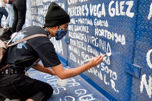 Muro de paz, en Ciudad de
